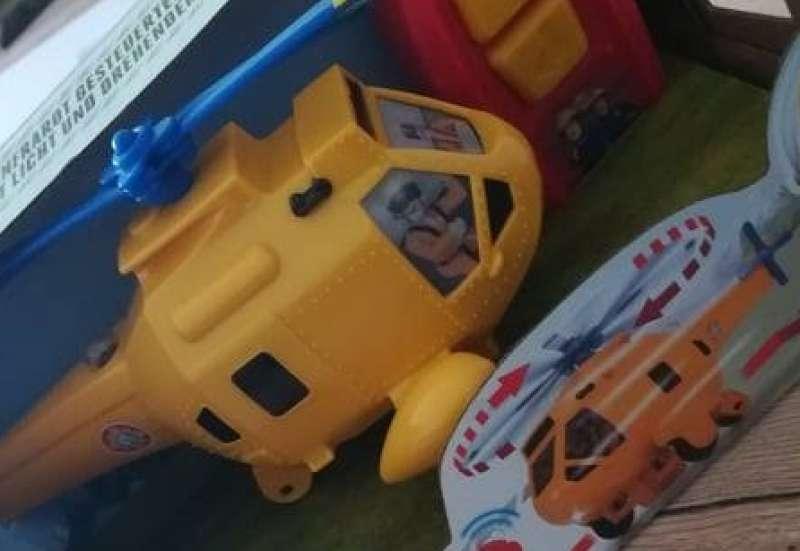 Dickie Toys/Spielewelten & Sammelfiguren:Hubschrauber Feuerwehrmann Sam