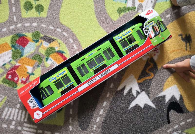 Dickie Toys/Autos, Fahrzeuge, Boote & Flieger:City Liner