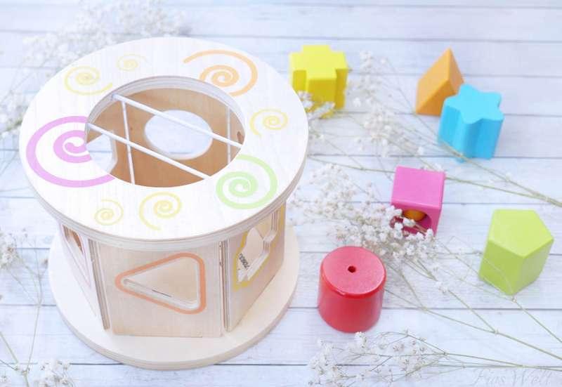 Eichhorn/Baby- & Kleinkindspielzeug:Eichhorn Steckspiel Rolle