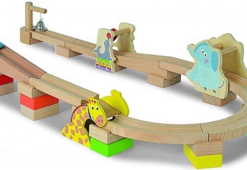 Kugelbahn für Kleinkinder