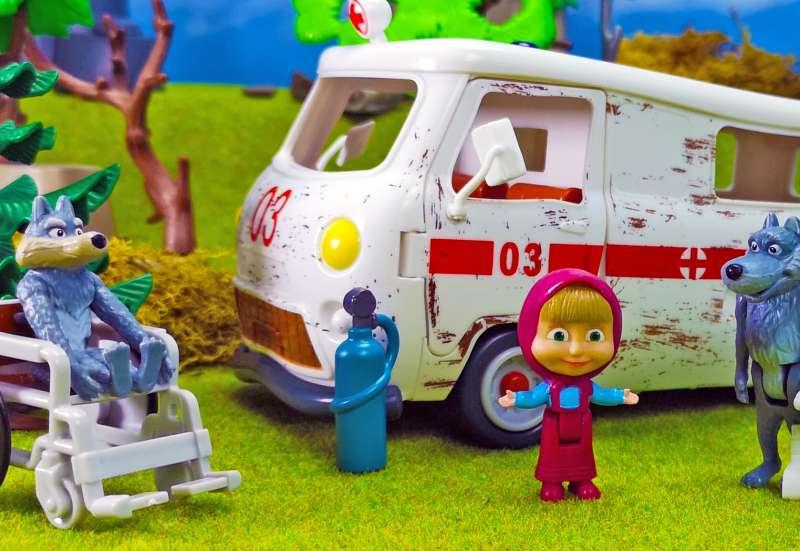 Mascha & Bär Krankenwagen Set