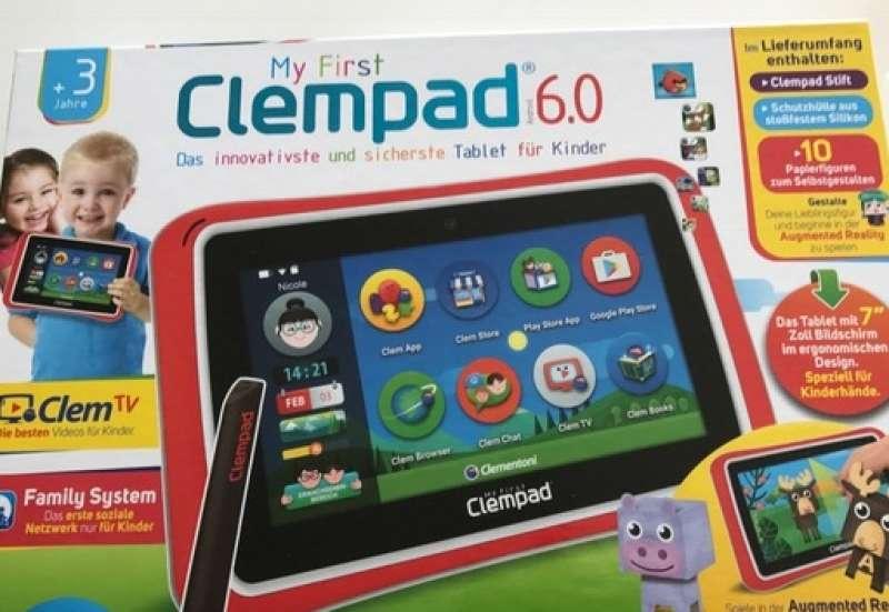 CLEMENTONI/Forschen & Entdecken:Mein erstes Tablet