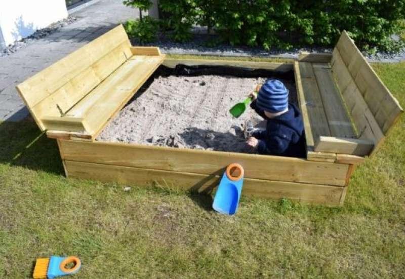 Sonstige/Outdoor & Sport:Sandkasten Flippey von Wickey