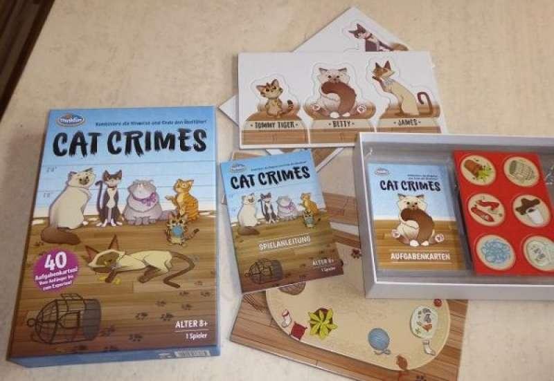 Sonstige/Spiele & Puzzles:Cat Crimes von ThinkFun