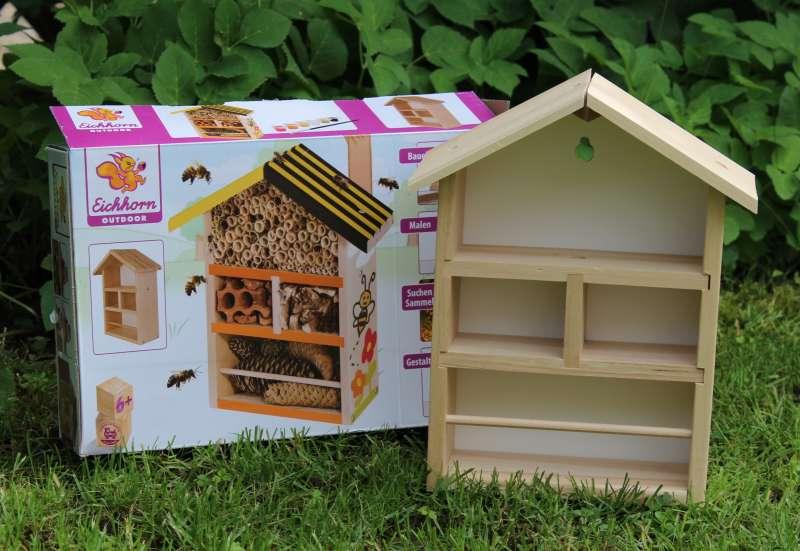 Bienen- bzw. Insektenhotel