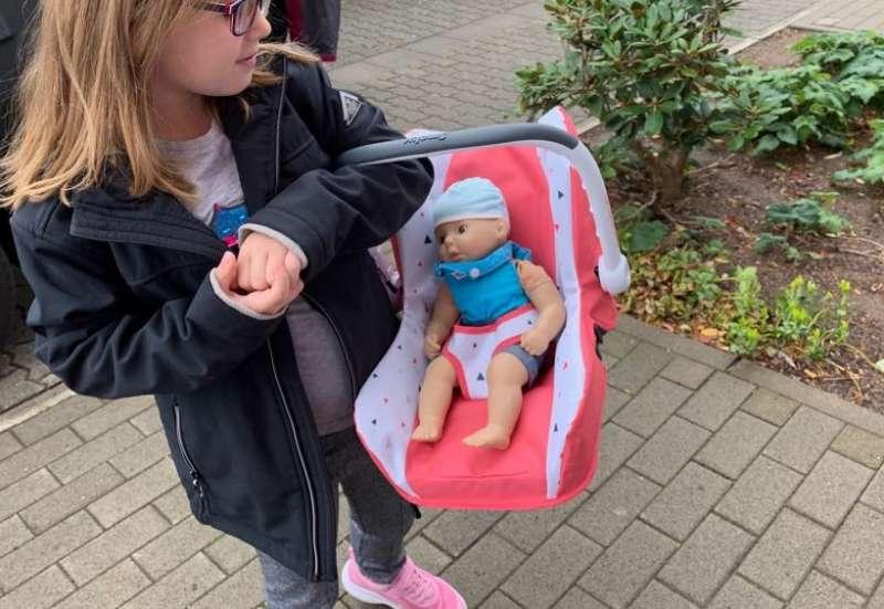 Smoby/Kinder Rollenspiele:Maxi-Cosi für unsere Puppen