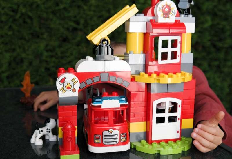 LEGO/Bauen & Konstruieren:Lego DUPLO Feuerwehrwache