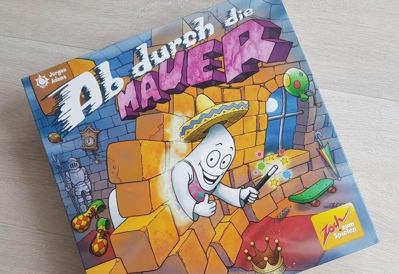Zoch/Spiele & Puzzles:Ab durch die Mauer