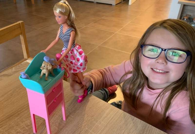 Simba/Puppen & Puppenzubehör:Steffi Love Hunde Salon