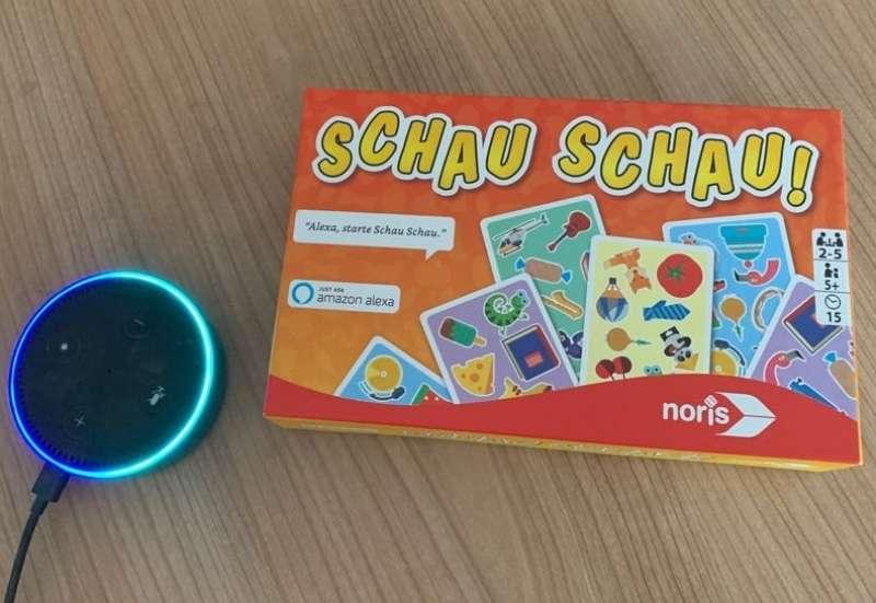 Noris/Spiele & Puzzles:Schau Schau mit Alexa