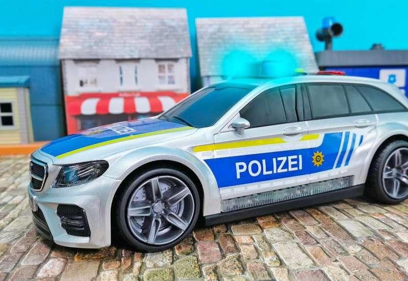 Dickie Toys/Autos, Fahrzeuge, Boote & Flieger:Mercedes E43 AMG Polizeiauto