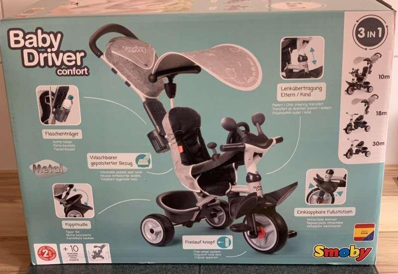 Smoby/Kinderfahrzeuge (z. B. Bobby Car):Der 3in1 Alleskönner