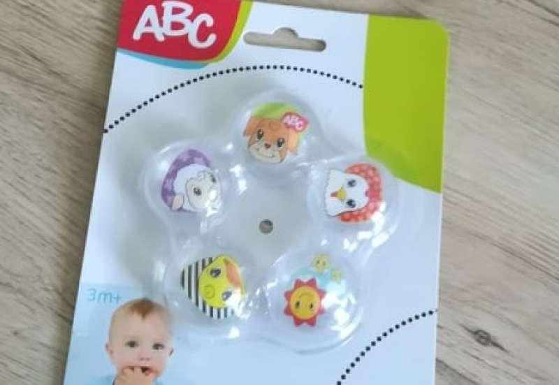 Simba/Baby- & Kleinkindspielzeug:Beißring mit süßen Motiven