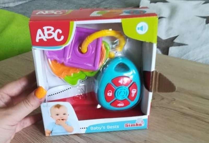 Simba/Baby- & Kleinkindspielzeug:Autoschlüssel Zweierset