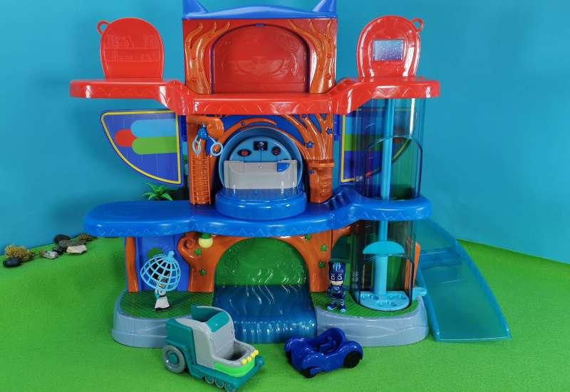 Simba/Autos, Fahrzeuge, Boote & Flieger:PJ Masks Zentrale & Romeo Lab