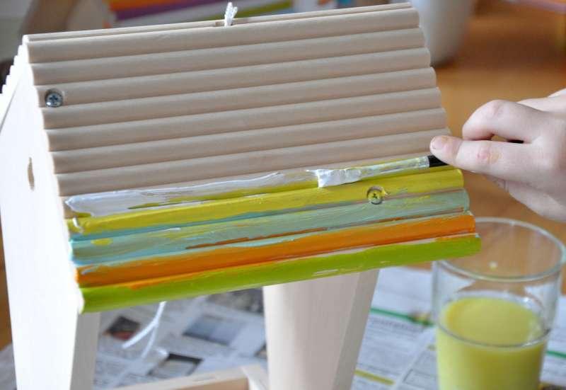 Eichhorn/Basteln, Malen & Kreativ:Ein Vogelhaus für Piepmätze