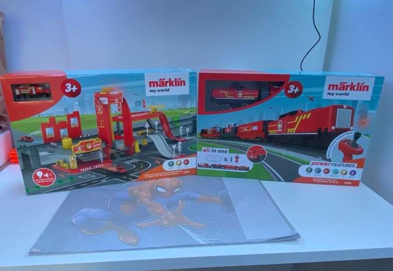 MÄRKLIN/Hobby (z. B. Eisenbahnen, Quadcopter):TatüTata die Feuerwehr ist da