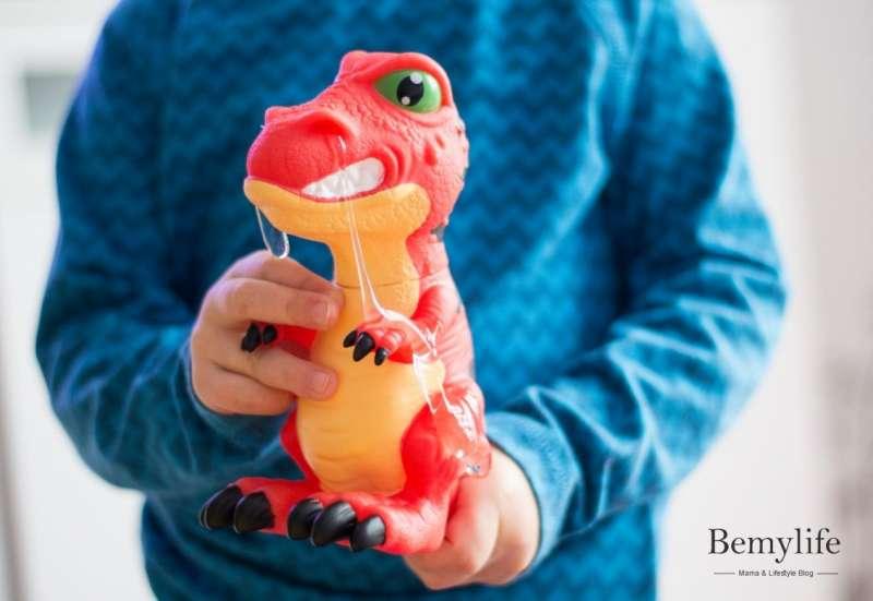 T-Rotz der erkältete Dino
