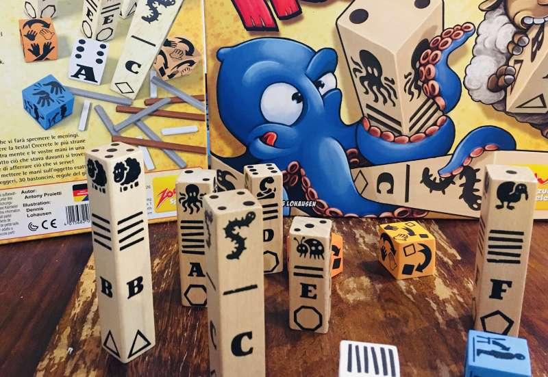 Zoch/Spiele & Puzzles:Vollpfosten von Zoch
