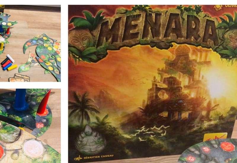 Zoch/Spiele & Puzzles:Menara - Spiel von Zoch