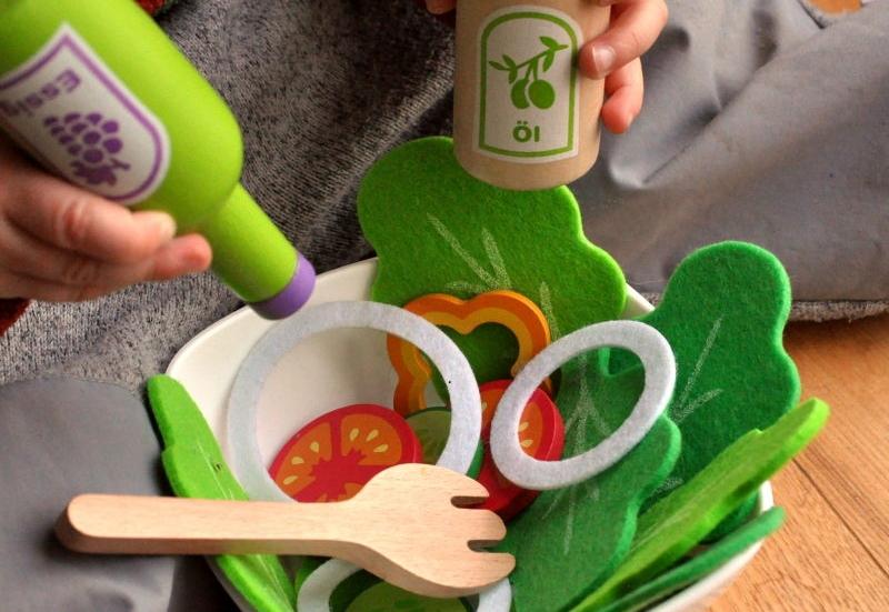 Eichhorn/Kinder Rollenspiele:Salat Set von Eichhorn