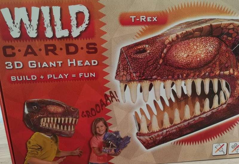 Simba/Basteln, Malen & Kreativ:Wild Cards T Rex
