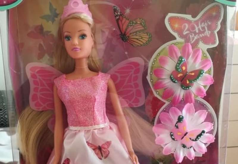Simba/Puppen & Puppenzubehör:Steffi Love Butterfly fairy