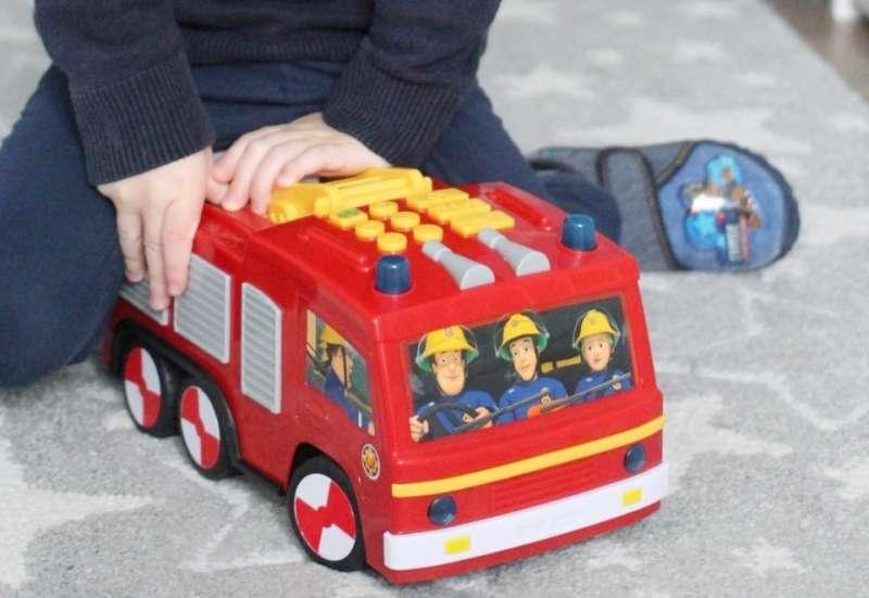 Dickie Toys/Autos, Fahrzeuge, Boote & Flieger:Feuerwehrmann Sam Spielwaren