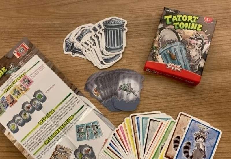 AMIGO/Spiele & Puzzles:Tatort Tonne
