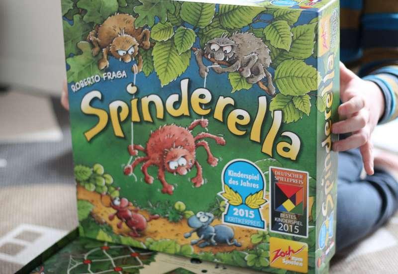 Zoch/Spiele & Puzzles:SPINDERELLA