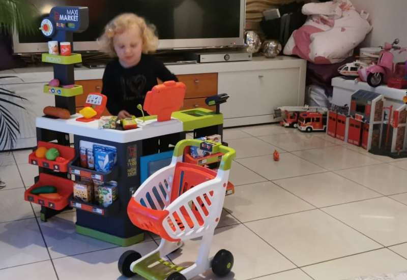 Smoby/Kinder Rollenspiele:Smoby Supermarkt