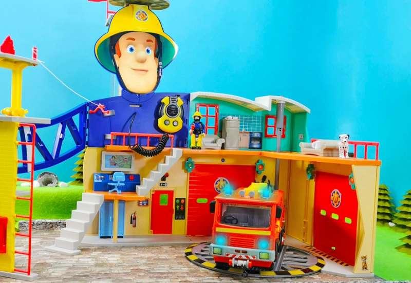 Simba/Spielewelten & Sammelfiguren:Mega Feuerwehrstation XXL