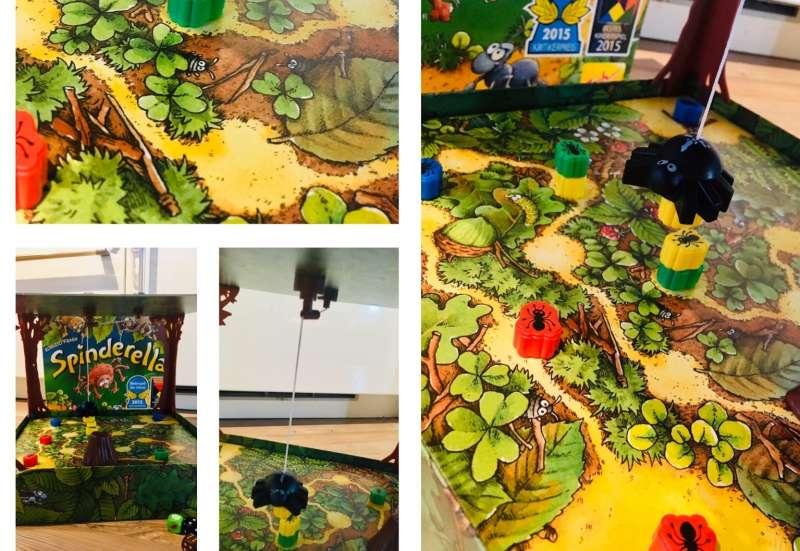 Zoch/Spiele & Puzzles:Spinderella, die Spinne