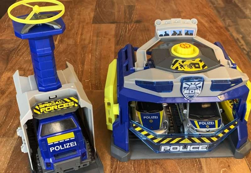 Dickie Toys/Autos, Fahrzeuge, Boote & Flieger:Die SWAT Station