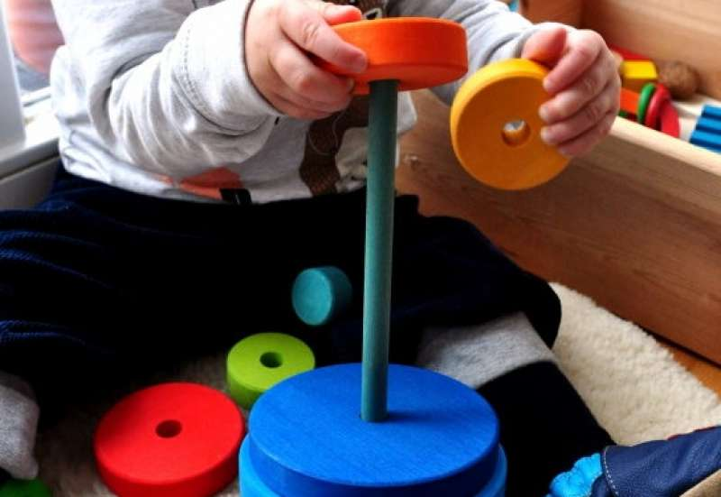 Sonstige/Baby- & Kleinkindspielzeug:Scheibenturm von Turm