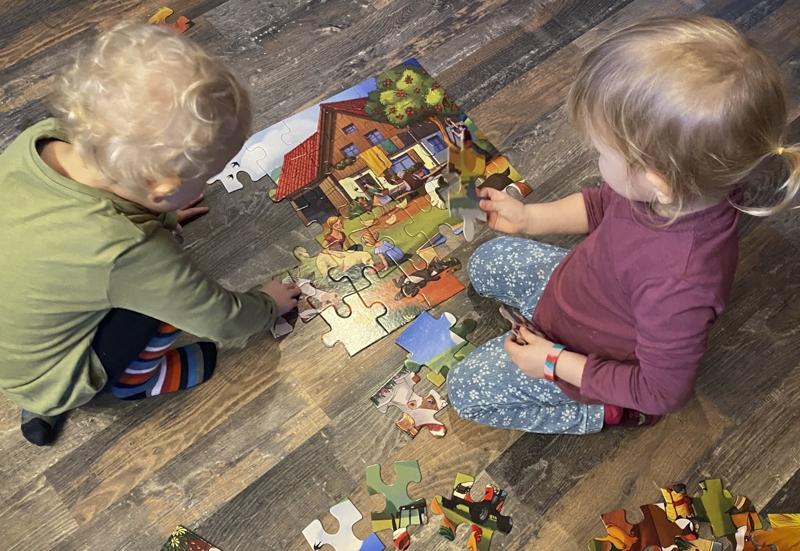 Noris/Spiele & Puzzles:Urlaub auf dem Bauernhof - XXL