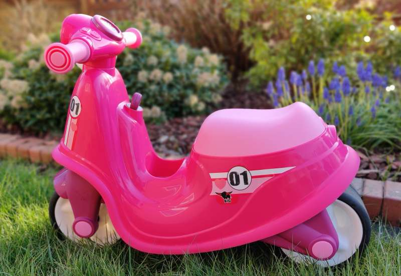 BIG/Kinderfahrzeuge (z. B. Bobby Car):BIG-Classic-Scooter Girlie