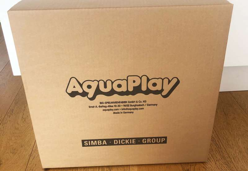 AuqaPlay/Outdoor & Sport:Aqua Play´n Go Wasserbahn