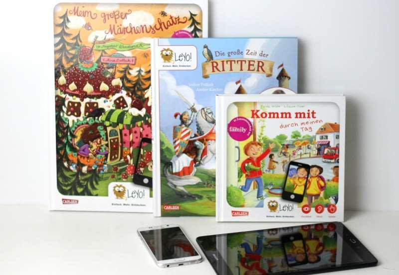 Sonstige/Forschen & Entdecken:LeYo! Interaktive Kinderbücher