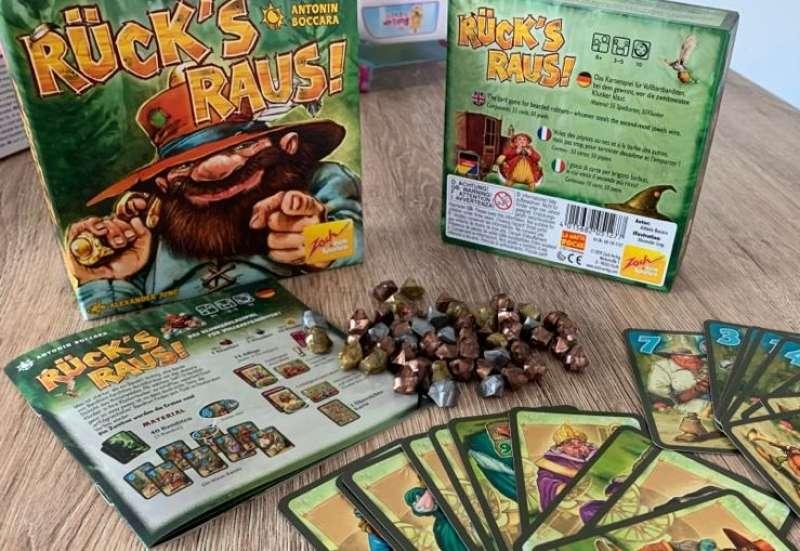Zoch/Spiele & Puzzles:Rück´s Raus gegen langeweile