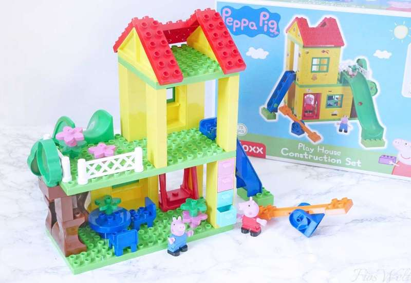 BIG/Baby- & Kleinkindspielzeug:BIG-Bloxx Peppa Pig Play House