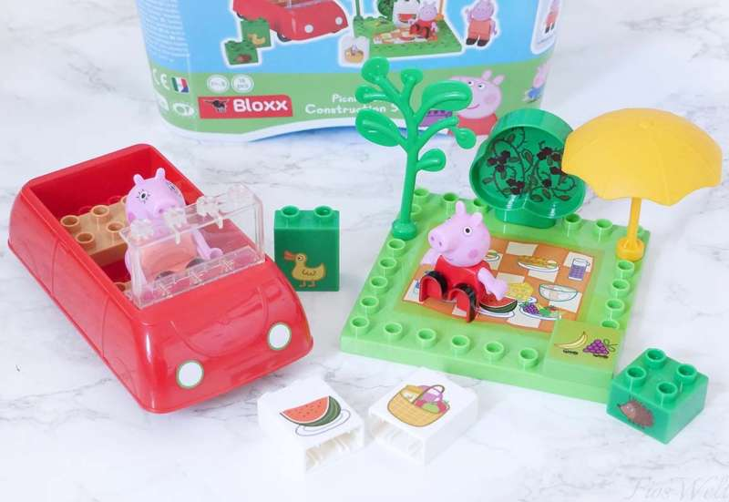 BIG/Baby- & Kleinkindspielzeug:Picknick mit Peppa Wutz