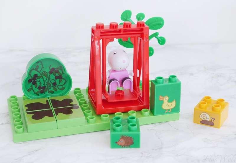 BIG/Baby- & Kleinkindspielzeug:Luzies Schaukel von Peppa Wutz