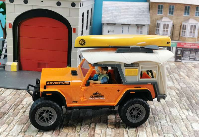 Dickie Toys/Autos, Fahrzeuge, Boote & Flieger:Dickie Toys Camping Set