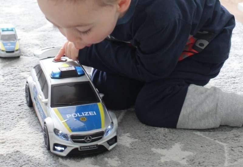 Dickie Toys/Autos, Fahrzeuge, Boote & Flieger:Mercedes Benz E43 AMG Polizei
