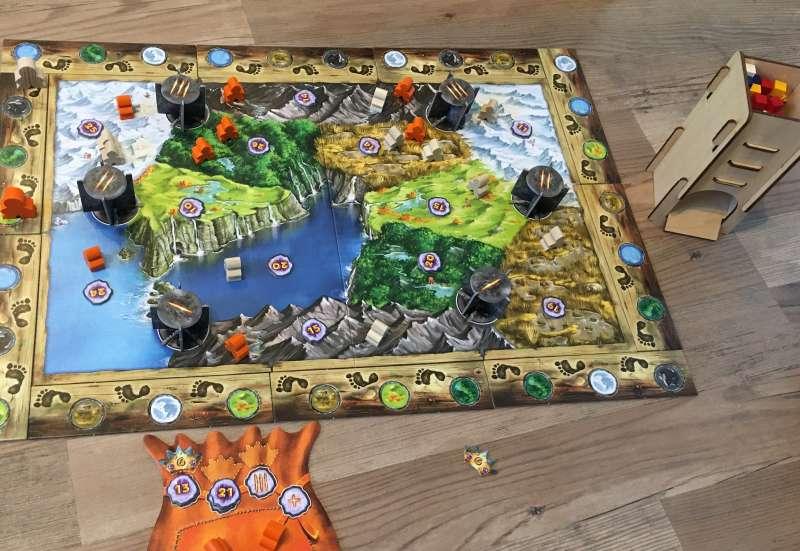 Zoch/Spiele & Puzzles:Trollfjord von Zoch Spiele