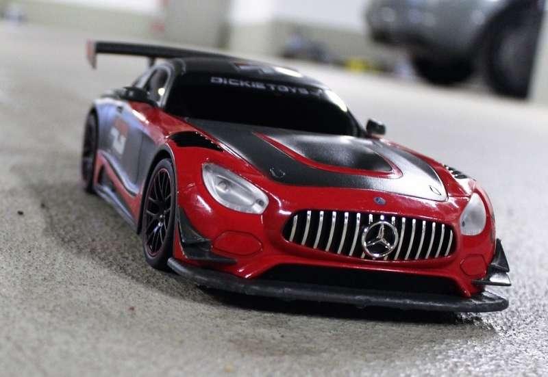 Dickie Toys/Autos, Fahrzeuge, Boote & Flieger:Der AMG GT3 für Mini-Raser