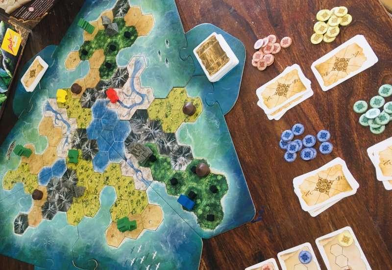 Zoch/Spiele & Puzzles:Tobago von Zoch Spiele