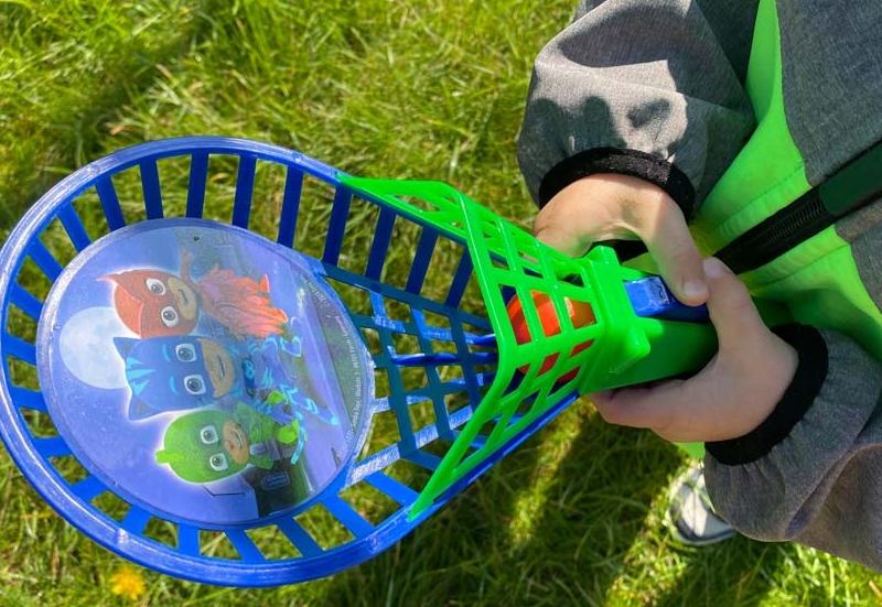 Das PJ Masks Fangballspiel