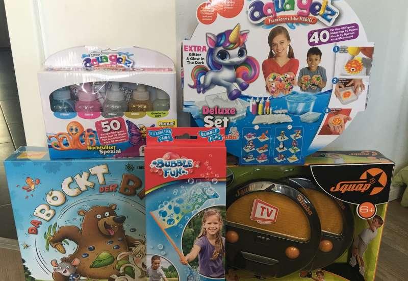 Simba/Spiele & Puzzles:ToyBoxx 3/2020 mit 4 Produkten